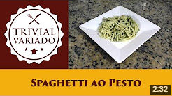 video receita espaguete ao pesto