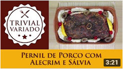 video receita pernil porco salvia alecrim