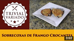 video receita sobrecoxas frango crocantes