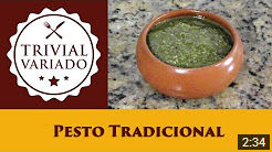 video receita pesto tradicional